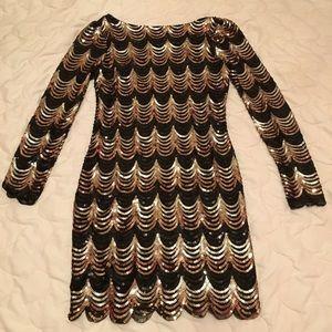 Sequin Minidress